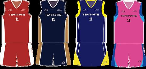 籃球衫,籃球衫套裝BSK1-4